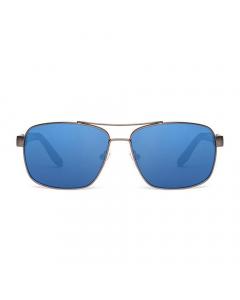 Nines Delta DE083-P Polarized Sunglasses (Copper Lens Light Blue Mirror)