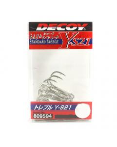 Decoy Y-S21 Treble Hooks
