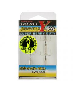 Decoy Y-S81 Treble Hooks