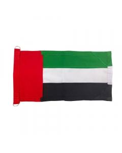 UAE Boat Flag, Single Layer Stitch Minimatt Fabric