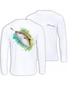 Fish2spear Long Sleeve Performance Shirt - Amber Jack