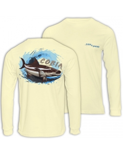 Fish2spear Long Sleeve Performance Shirt Cobia's - Creme