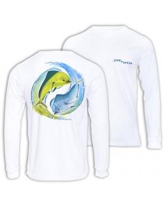Fish2spear Long Sleeve Performance Shirt - Mahi Mahi