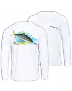 Fish2spear Long Sleeve Performance Shirt - Rainbow Runner