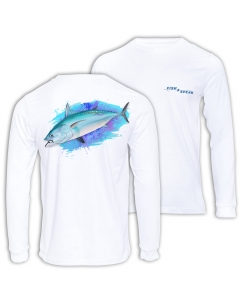 Fish2spear Long Sleeve Performance Shirt - Bonito