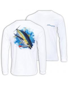 Fish2spear Long Sleeve Performance Shirt - Yellow Fin Tuna