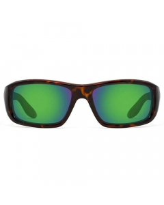 Nines Falcon Polarized Sunglasses (Tortoise / Amber Brown Lens Green Mirror)