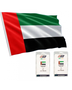 Blue Rock UAE Boat Flag