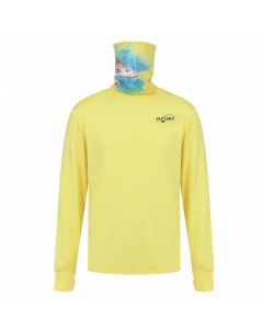 Fly Lord Bonefish Long Sleeve Casting Shirt with Mask (Yellow)