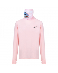 Fly Lord GT Long Sleeve Casting Shirt with Mask (Pink)