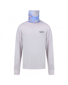 Fly Lord Tarpon Long Sleeve Casting Shirt with Mask (Grey)