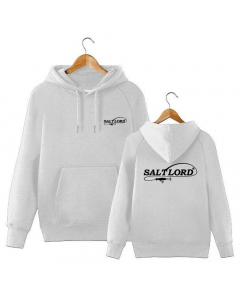 Salt Lord Hoodie - Silver (Size: L)