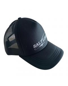 Salt Lord Mesh Cap - Black