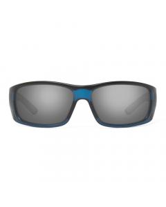 Nines Fork FR127-P Polarized Sunglasses (Navy Blue / Gray Lens with Mirror)