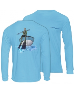 Fish2spear Long Sleeve Performance Shirt - Spearo on Deck