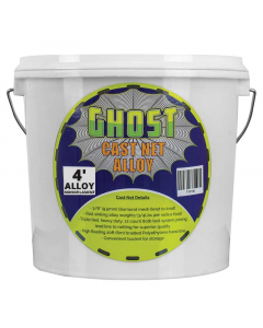 Ghost Monofilament Cast Alloy Net