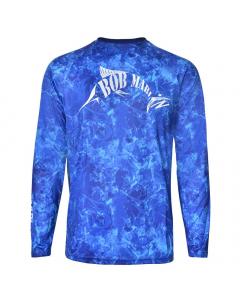 Bob Marlin Grander Performance Shirt - Blue