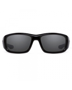 Nines Havasu HA021-P Polarized Sunglasses (Glossy Black / Smoke Gray)