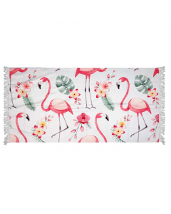 Homenza Beach Towel Flamingo