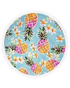 Homenza Beach Towel Pineapple 150x150cm
