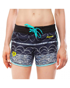 Aqua Marina Illusion Printed Women's Boardshorts