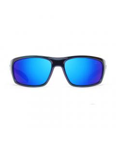Nines IKE S1 IS114-P Polarized Sunglasses (Chameleon / Gray Lens Deep Blue Mirror)