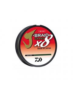 Daiwa J-Braid Grand Casting 8X Braided Line - Yellow