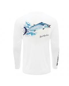 Bob Marlin King Bob Performance Shirt – White