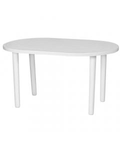 KTP Oval Table Otello 140x85cm