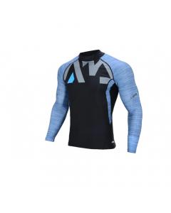 Aqua Marina Division Men's Rashguard LS Shirt