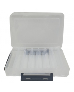 Littma Double Sided Lure Case - 16 compartments - Clear