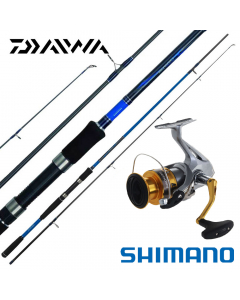 Daiwa / Shimano Intermediate Beach / Boat Casting 7.4ft - Medium Combo