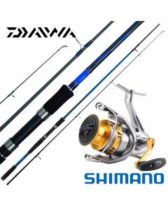 Daiwa / Shimano  Intermediate Beach Casting 10ft Medium-Heavy - Combo