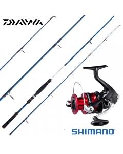 Daiwa / Shimano Starter 7ft Boat Casting - Medium Heavy - Combo