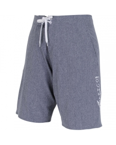 Aftco Pivot Board Shorts - Navy Heather (Size: 36)