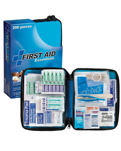 First Aid Essentials FAO-432 with Fabric Case (200 pcs)