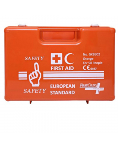 Safety First GKB302 European Standard First Aid Kit for 50 people