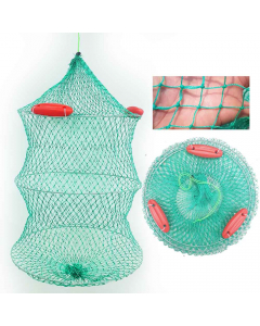 Folding Fishing Net Cage - Floating