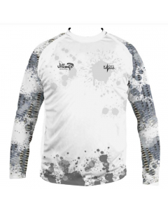 Just Fishing Yellow Fin Sea Bream Long Sleeve Performance Shirt (Size: L)