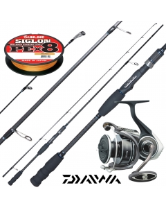 Mighty Fight 8ft Shore Casting Combo 8-29g PE 0.8-1.5 with Braided Line