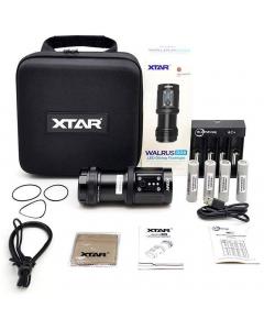 Xtar Walrus D08 Diving Flashlight Full Set