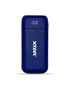 Xtar PB2 Portable Li-ion Charger and Powerbank - Blue