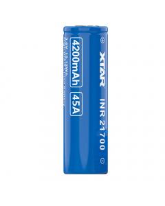 Xtar INR 21700 4200mAh High-drain Li-ion Battery For Vaping