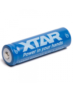 Xtar 14500 Rechargeable Li-ion Battery 600mAh