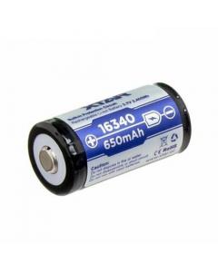 Xtar 16340 650mAh 3.7V Rechargeable Li-ion Battery