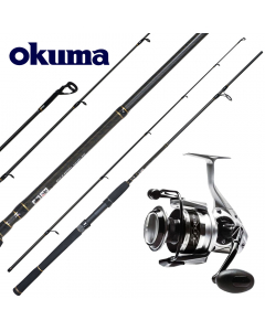 Okuma Professional EPX-AZR Casting 9ft - Medium Heavy - Kingfish Edition Combo