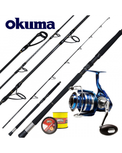 Okuma Deep Water Popping 7.8ft MK-AZR - 250g - Casting / Jigging - Combo