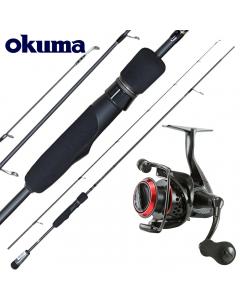 Okuma Shadow 7ft Micro Jigging Fanatic Combo