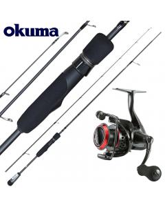 Okuma Shadow 8ft Light Jigging Fanatic Combo