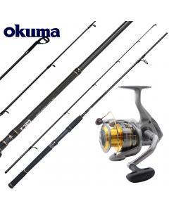 Okuma Master Epixor Beach Casting Rod 9ft - Medium Heavy - Combo